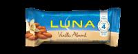 Clif Bar Luna Bars 1.7 oz- Vanilla Almond (15 Pack)