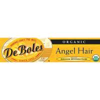 DeBoles - DeBoles Organic Artichoke Angel Hair Pasta 8 oz (12 Pack)