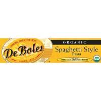 DeBoles - DeBoles Organic Artichoke Spaghetti 8 oz (12 Pack)