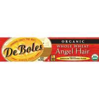 Grocery - Noodles & Pastas - DeBoles - DeBoles Organic Whole Wheat Angel Hair Pasta 8 oz (12 Pack)