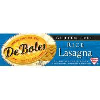 Gluten Free - Grains - DeBoles - DeBoles Rice Pastas Lasagna 10 oz (12 Pack)
