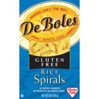 DeBoles - DeBoles Rice Pastas Spirals 8 oz (12 Pack)