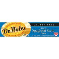 Gluten Free - Grains - DeBoles - DeBoles Rice Spaghetti Style Pasta 8 oz (12 Pack)
