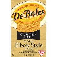 Grocery - Noodles & Pastas - DeBoles - DeBoles Wheat Free Corn Elbow Style Pasta 12 oz (12 Pack)