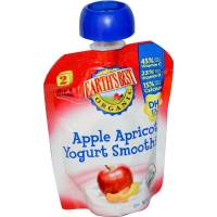 Grocery - Baby Foods - Earth's Best  - Earth's Best Baby Foods Organic Apples & Apricots Yogurt Smoothie 3.1 oz (12 Pack)