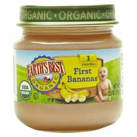Grocery - Baby Foods - Earth's Best  - Earth's Best Baby Foods Organic First Bananas 2.5 oz (12 Pack)