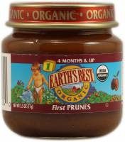 Grocery - Baby Foods - Earth's Best  - Earth's Best Baby Foods Organic First Prunes 2.5 oz (12 Pack)