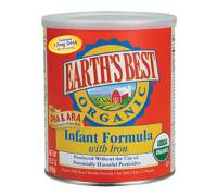 Grocery - Baby Foods - Earth's Best  - Earth's Best Baby Foods Organic Infant Formula with DHA & ARA 23.2 oz (4 Pack)