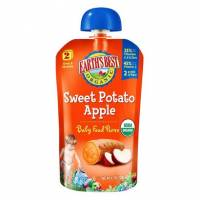 Grocery - Baby Foods - Earth's Best  - Earth's Best Baby Foods Organic Stage 2 - Sweet Potato Apple Baby Food Puree 4 oz  (12 Pack)
