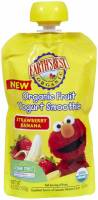 Grocery - Baby Foods - Earth's Best  - Earth's Best Baby Foods Organic Strawberry Banana Yogurt Smoothie 4.2 oz (12 Pack)