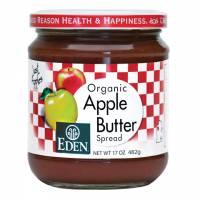 Grocery - Spreads - Eden Foods - Eden Foods Apple Butter 17 oz (6 Pack)