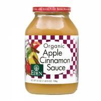 Grocery - Spreads - Eden Foods - Eden Foods Apple Cinnamon Sauce 25 oz (6 Pack)