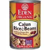 Grocery - Beans & Lentils - Eden Foods - Eden Foods Cajun Rice & Small Red Beans 15 oz (6 Pack)