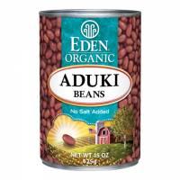 Specialty Sections - Macrobiotic - Eden Foods - Eden Foods Organic Aduki Beans 15 oz (6 Pack)