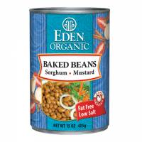 Grocery - Beans & Lentils - Eden Foods - Eden Foods Organic Baked Beans with Sorghum & Mustard 15 oz (6 Pack)