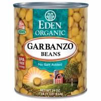 Specialty Sections - Macrobiotic - Eden Foods - Eden Foods Organic Beans Garbanzo 29 oz (6 Pack)