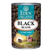 Specialty Sections - Macrobiotic - Eden Foods - Eden Foods Organic Black Beans 15 oz (6 Pack)