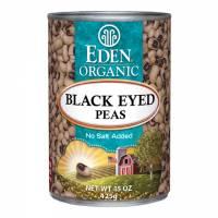 Specialty Sections - Macrobiotic - Eden Foods - Eden Foods Organic Black Eyed Peas 15 oz (6 Pack)