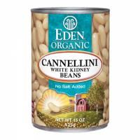 Grocery - Beans & Lentils - Eden Foods - Eden Foods Organic Cannellini Beans 15 oz (6 Pack)