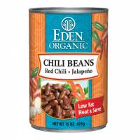 Grocery - Beans & Lentils - Eden Foods - Eden Foods Organic Chili Beans with Jalapeno & Chili Peppers 15 oz (6 Pack)