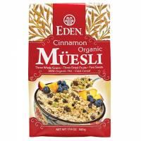 Eden Foods Organic Cinnamon Muesli 17.6 oz (6 Pack)