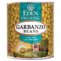 Specialty Sections - Macrobiotic - Eden Foods - Eden Foods Organic Garbanzo Beans 108 oz (6 Pack)