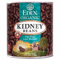 Specialty Sections - Macrobiotic - Eden Foods - Eden Foods Organic Kidney Beans 108 oz (6 Pack)