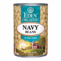 Specialty Sections - Macrobiotic - Eden Foods - Eden Foods Organic Navy Beans 15 oz (6 Pack)
