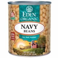 Specialty Sections - Macrobiotic - Eden Foods - Eden Foods Organic Navy Beans 29 oz (6 Pack)