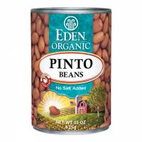 Specialty Sections - Macrobiotic - Eden Foods - Eden Foods Organic Pinto Beans 15 oz (6 Pack)