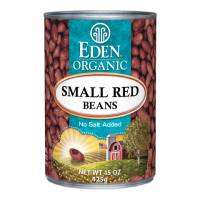 Grocery - Macrobiotic - Eden Foods - Eden Foods Organic Small Red Beans 15 oz (6 Pack)
