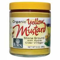 Eden Foods Organic Yellow Mustard 9 oz (6 Pack)