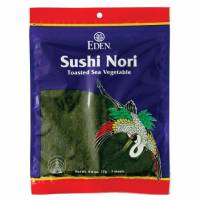 Grocery - Sea Vegetables - Eden Foods - Eden Foods Toasted Sushi Nori 0.6 oz (6 Pack)