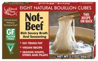 Gluten Free - Sauces & Spreads - Edward & Sons - Edward & Sons Bouillon Cubes 3.1 oz - Not-Beef (12 Pack)