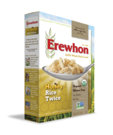 Grocery - Cereals - Erewhon - Erewhon Honey Rice Twice Cereal 10 oz (12 Pack)
