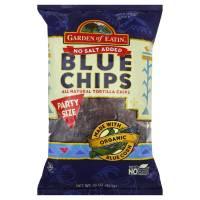Garden of Eatin' - Garden of Eatin' Blue Corn Tortilla Chips - Unsalted 16 oz (6 Pack)