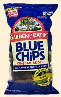 Garden of Eatin' - Garden of Eatin' Blue Corn Tortilla Chips - Unsalted 8.1 oz (6 Pack)