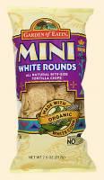 Grocery - Chips - Garden of Eatin' - Garden of Eatin' Mini White Corn Tortilla Rounds 7.5 oz (6 Pack)