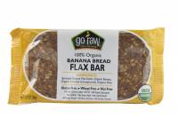 Grocery - Nutrition Bars - Go Raw - Go Raw Banana Bread Flax Bar 1.2 oz (15 Pack)