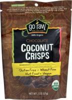 Gluten Free - Nutrition Bars & Snacks - Go Raw - Go Raw Chocolate Coconut Crisps 2 oz (6 Pack)
