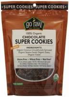 Gluten Free - Nutrition Bars & Snacks - Go Raw - Go Raw Chocolate Super Cookies 3 oz (6 Pack)