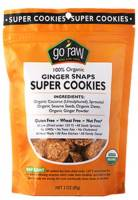 Gluten Free - Nutrition Bars & Snacks - Go Raw - Go Raw Ginger Snaps Super Cookies 3 oz (6 Pack)