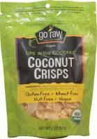 Gluten Free - Nutrition Bars & Snacks - Go Raw - Go Raw Lime 'N the Coconut - Coconut Crisps 2 oz (6 Pack)