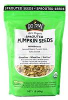 Grocery - Nuts & Seeds - Go Raw - Go Raw Sprouted Pumpkin Seeds 16 oz (6 Pack)