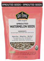 Grocery - Nuts & Seeds - Go Raw - Go Raw Sprouted Watermelon Seeds 10 oz (4 Pack)