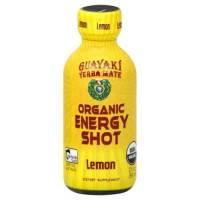Grocery - Beverages - Guayaki - Guayaki Organic Energy Shot - Lemon 2 oz (12 Pack)