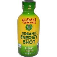 Grocery - Beverages - Guayaki - Guayaki Organic Energy Shot - Lime Tangerine 2 oz (12 Pack)