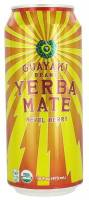 Grocery - Beverages - Guayaki - Guayaki Sparkling Yerba Mate - Revel Berry 16 oz (12 Pack)