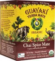 Guayaki Yerba Mate - Chai Spice 16 bags (6 Pack)