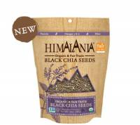 Himalania Fair Trade Black Chia Seeds 10 oz (6 Pack)